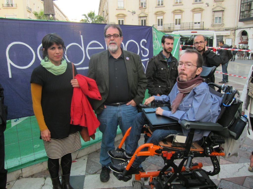 Echenique propone a Rodríguez que la candidatura sea 'Unidas Podemos Izquierda Unida' y 'Adelante Andalucía' sea el lema