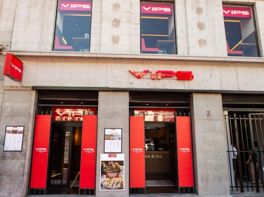 Vips abre un restaurante en la madrileña Puerta del Sol, donde se podrán hacer pedidos para llevar