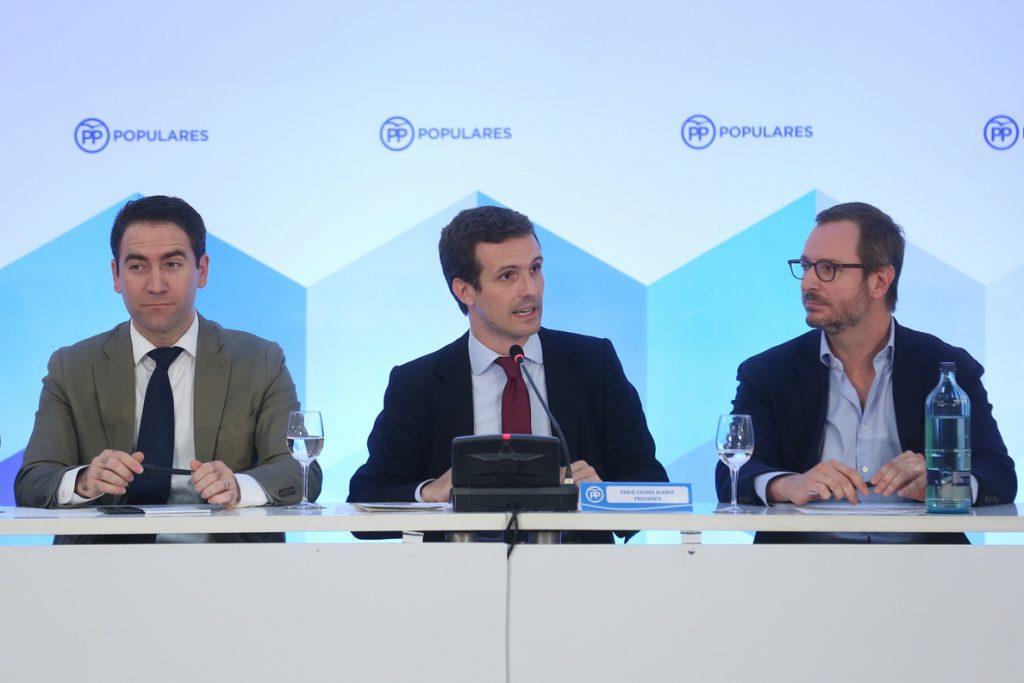 Casado prevé cerrar las candidaturas electorales del PP lo antes posible: «Ya estamos en campaña»