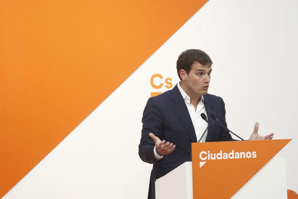 Rivera ante el salto de la valla en Ceuta: «Si queremos una Europa sin fronteras internas hay que proteger las externas»