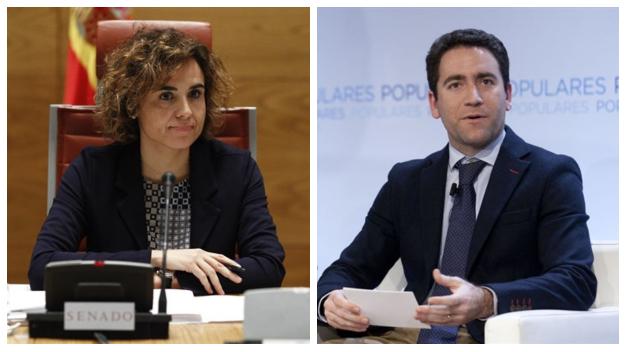 Teodoro García Egea y Dolors Montserrat: los nombres de Casado para Génova y el Congreso