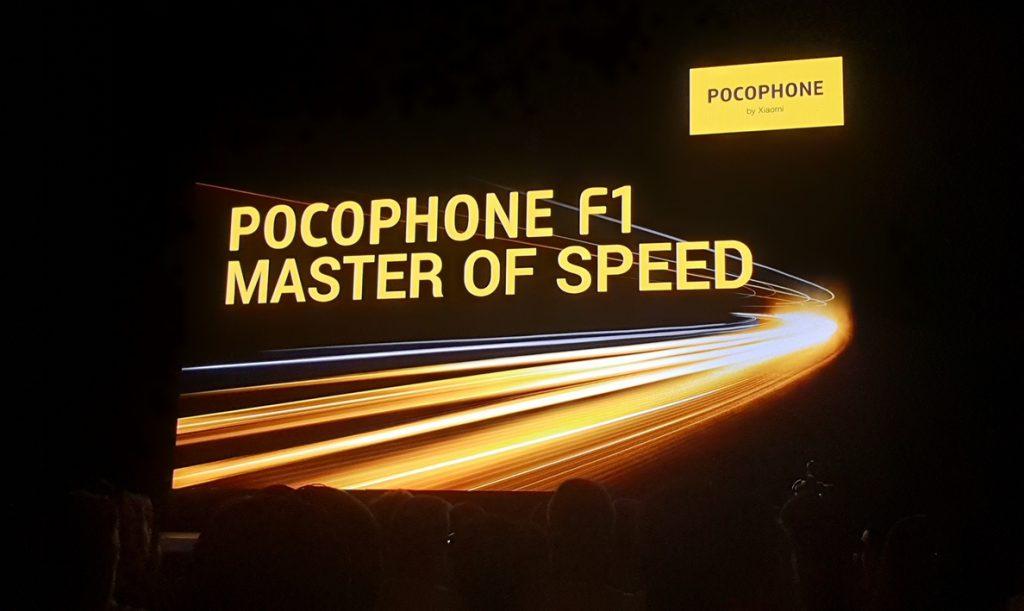 POCO F1, el primer smartphone de Pocophone, llegará a Europa desde 329 euros