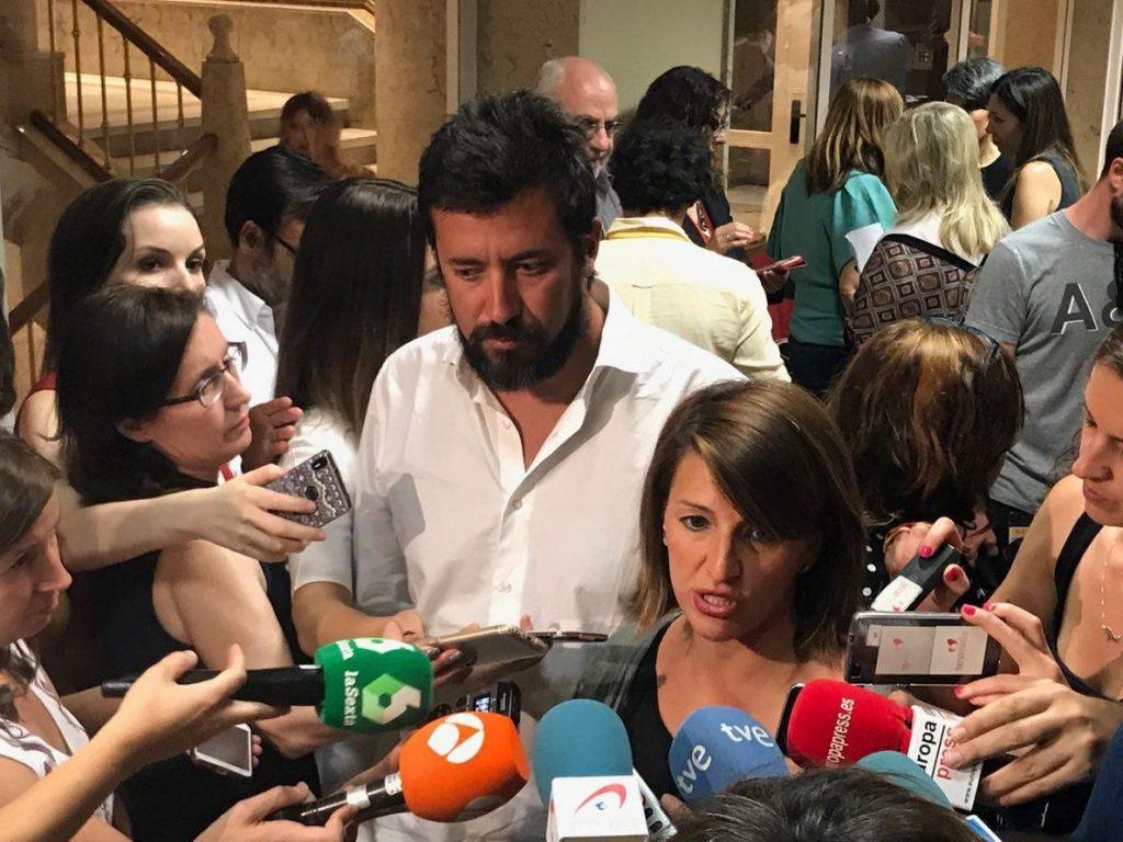 En Marea critica la redacción del decreto de la exhumación de Franco y exige resolver lo del Pazo de Meirás