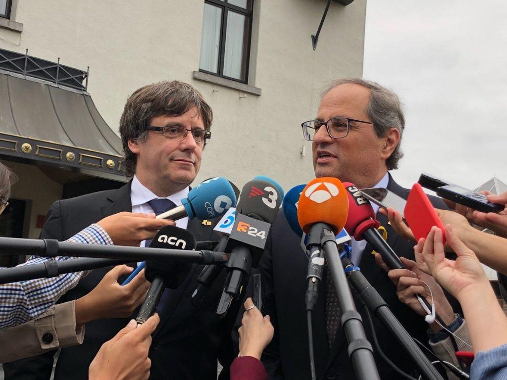 Puigdemont dice que si el Gobierno paga la defensa jurídica de un particular sentaría «un precedente gravísimo»