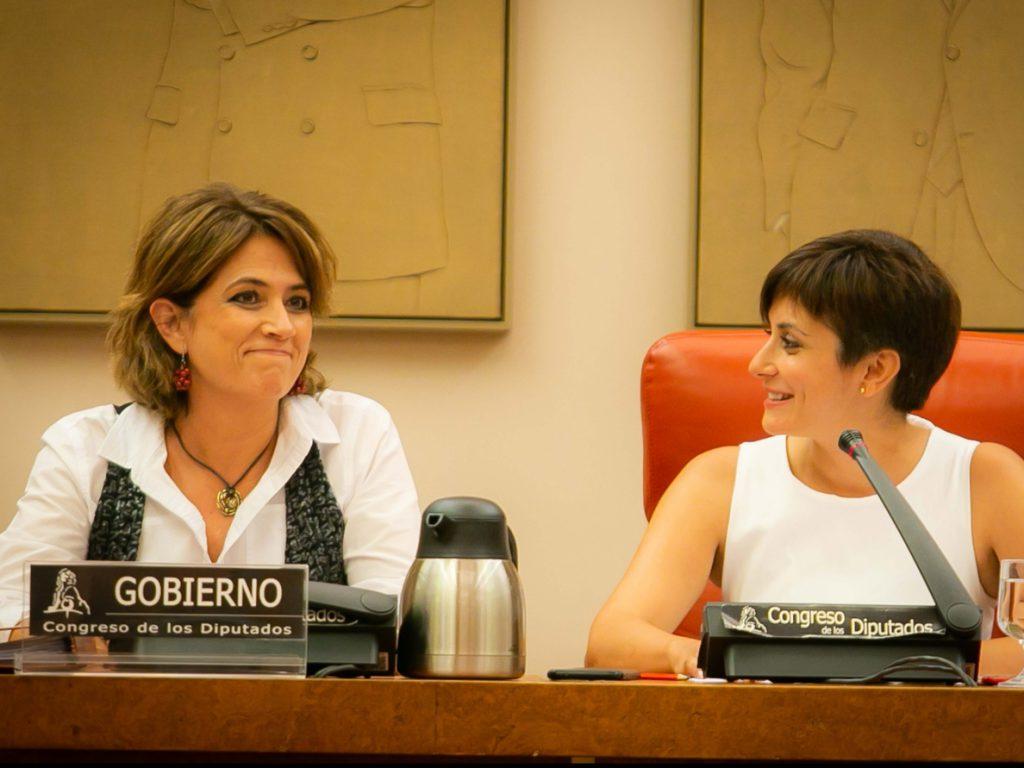 Delgado solicita comparecer en el Congreso para explicar la defensa de Llarena en Bélgica
