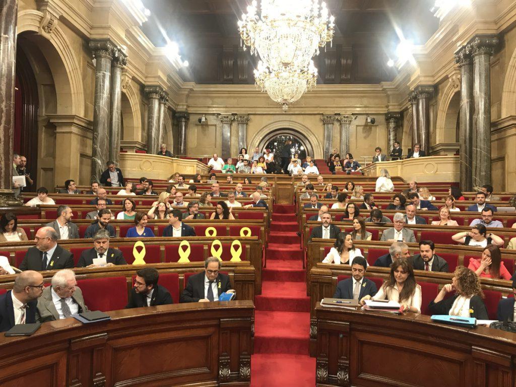 ERC y JxCat ven encaminado un pacto sobre los diputados suspendidos y esperan cerrarlo pronto