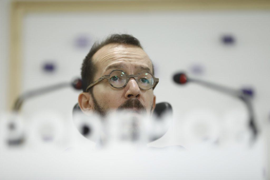 Echenique critica el «cambio de parecer» de Sánchez sobre el Valle de los Caídos y defiende que sea un museo