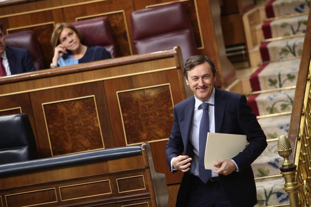 Rafael Hernando carga contra Grande-Marlaska: «Un personaje así no debería ser ministro de nada»