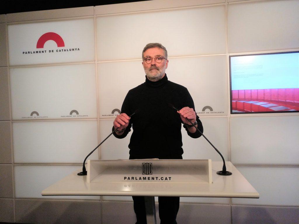 Riera (CUP) espera que Torra se comprometa a hacer efectiva la república «en nueve meses»