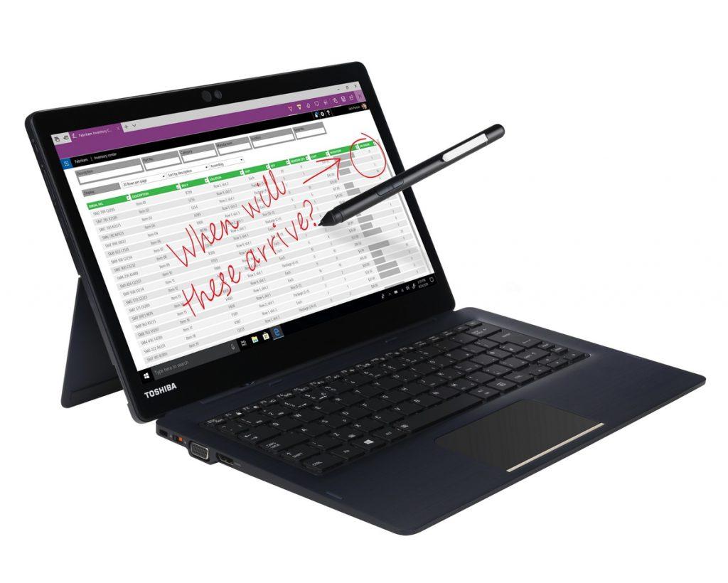 Toshiba presenta el ordenador dos en uno Portégé X30T-E, de 799 gramos en modo 'tablet'