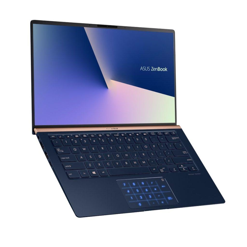 ASUS actualiza sus portátiles ZenBook con procesadores Intel Core de octava generación y teclado numérico LED