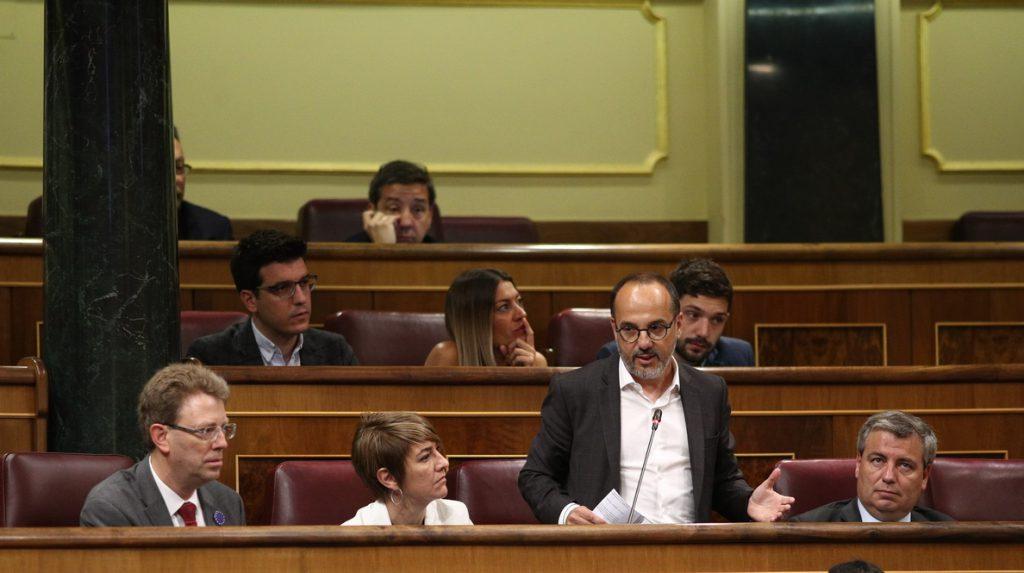 PDeCAT dice que hay propuestas de PSOE y Podemos que no le gustan y recuerda a Sánchez que necesita votos