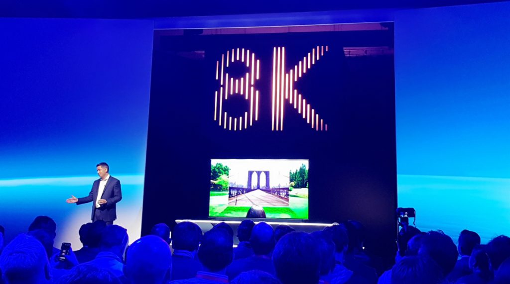 Samsung introduce la resolución 8K en sus nuevos televisores QLED 8K de gran pulgada