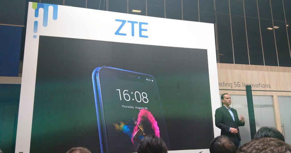 ZTE presenta su smartphone insignia Axon 9 Pro, con tecnología de optimización de imágenes