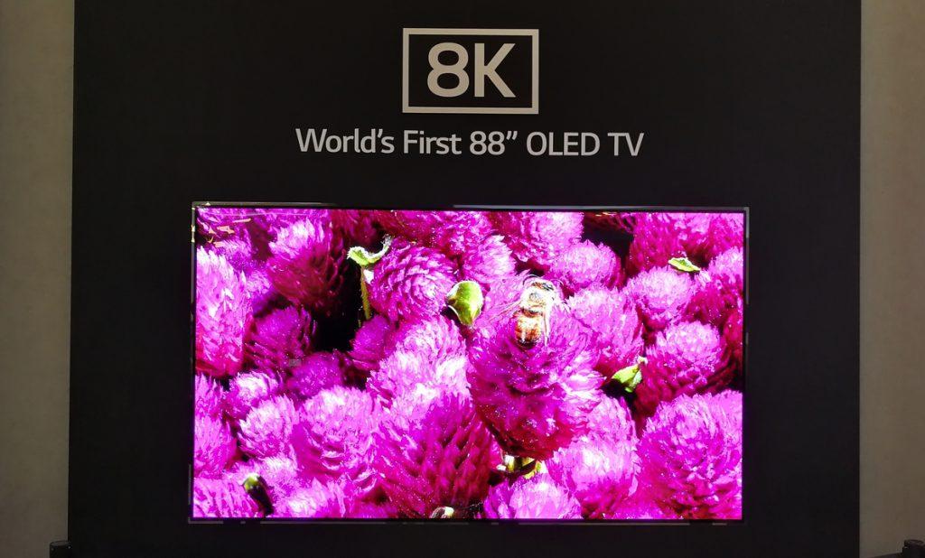 Los televisores 8K de LG saldrán a la venta en España en septiembre de 2019