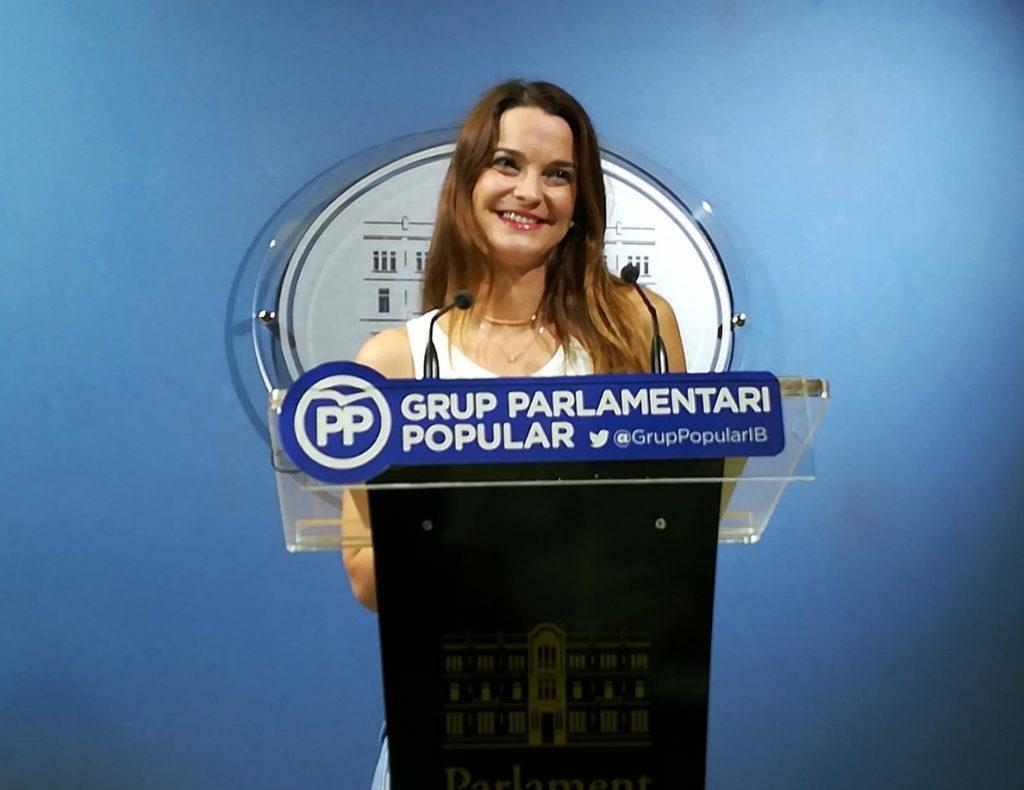 PP balear critica la asistencia del presidente del Parlament a un acto independentista: «no da la talla» en su cargo