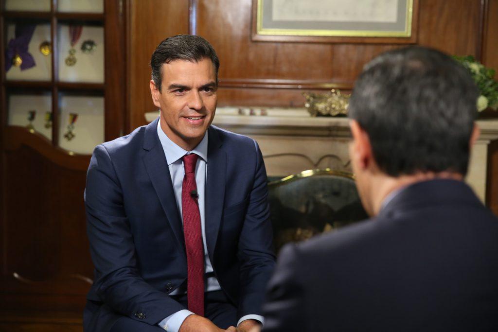 Pedro Sánchez será entrevistado el lunes en la Cadena SER