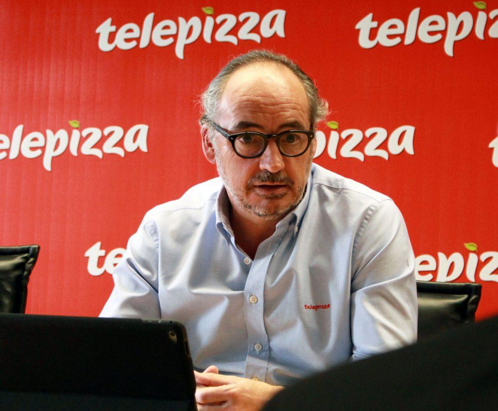 El consejero delegado de Telepizza, Pablo Juantegui, eleva su partición en la compañía hasta rozar el 1%
