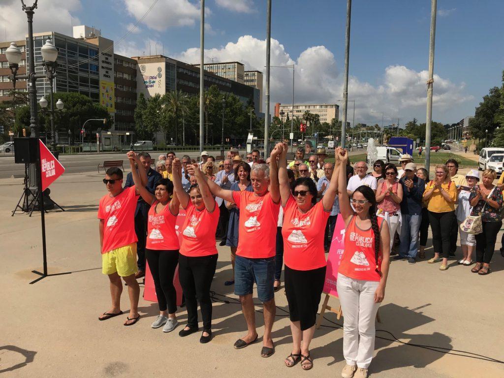 La manifestación independentista de la Diada suma 170.000 personas inscritas