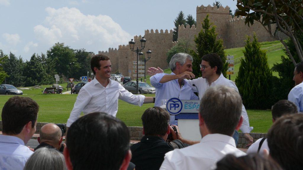Pablo Casado anuncia una Fundación Concordia y Libertad presidida por Adolfo Suárez Illana