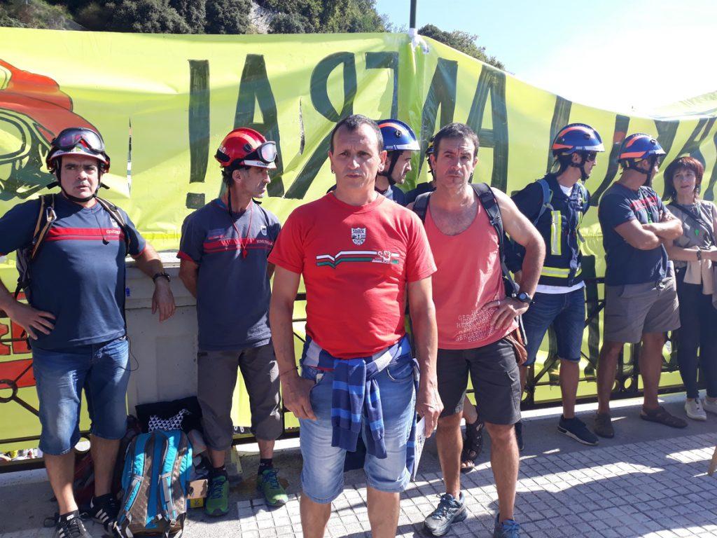 LAB exige a PNV la reincorporación del expreso de ETA Iñaki Igerategi a su puesto como bombero foral en Guipúzcoa