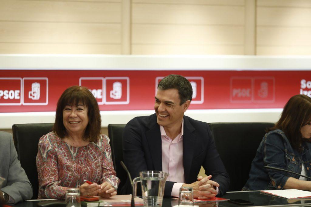 Narbona resta importancia a las críticas de Lambán o Díaz sobre la estrategia de Sánchez en Cataluña