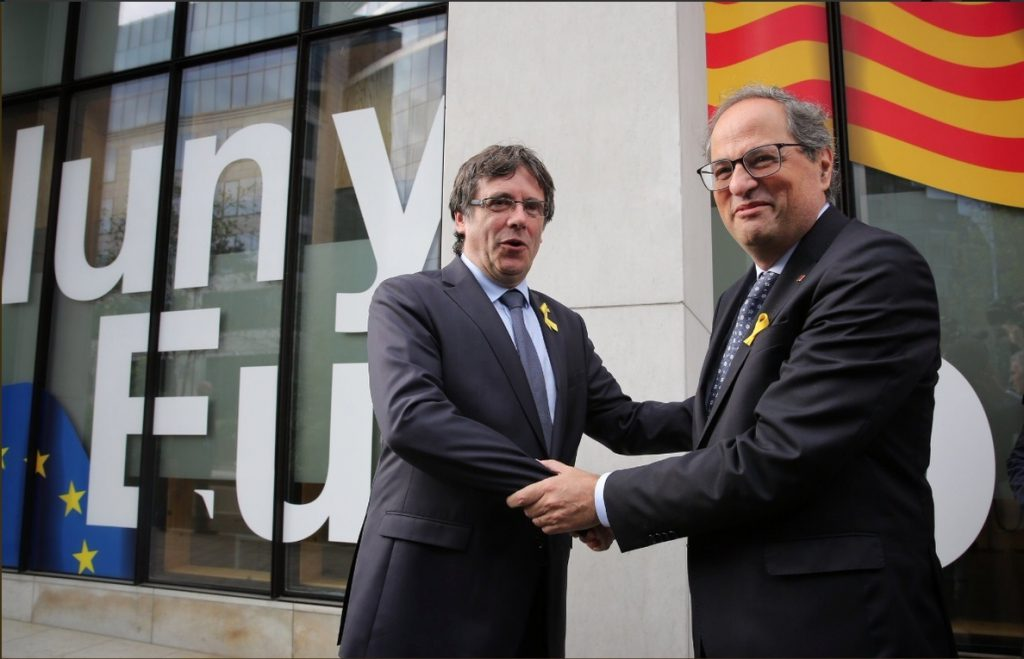 Puigdemont no volverá a optar a presidente si se concreta una república catalana