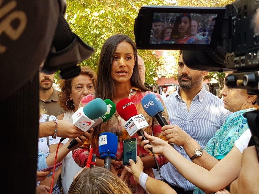 Villacís cree que exhumar a Franco es «una cortina de humo» para no abordar los problemas «que tiene España»