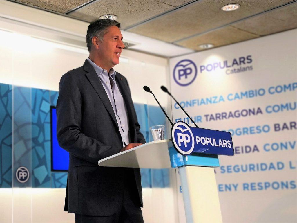 Albiol ve un «pacto oculto» Sánchez-Torra para cuestionar la soberanía española en Cataluña