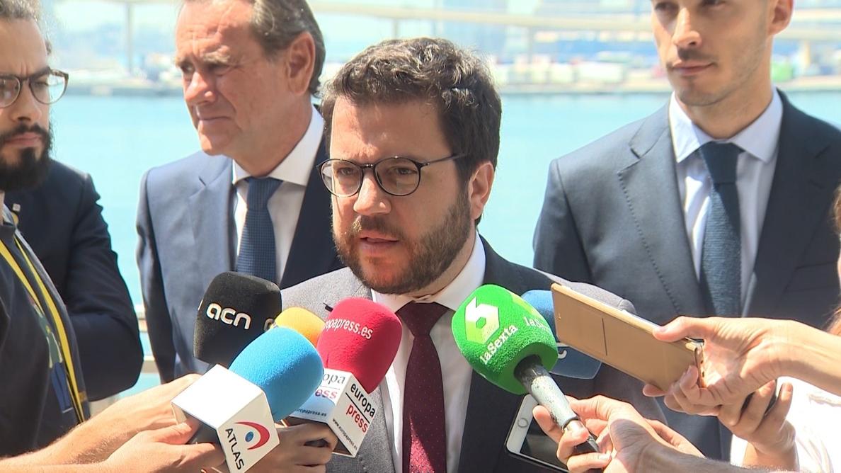 Aragonés sobre los indultos: «Son un paso, pero no una solución»