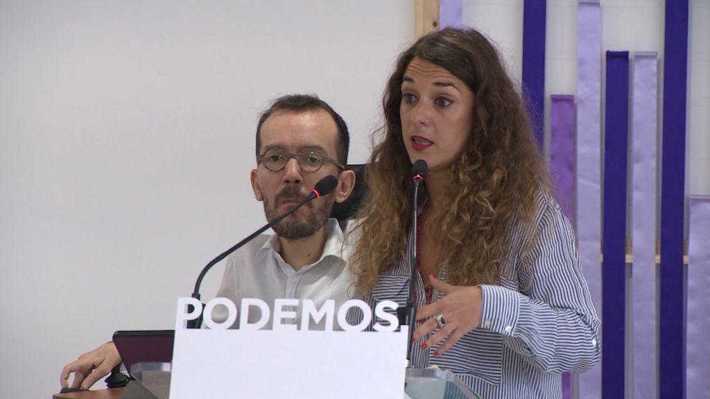Podemos acusa a PP y Cs de «agarrarse» a cualquier excusa para «defender a Franco» y «reírse» de sus víctimas