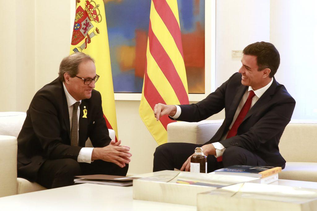 Sánchez plantea un referéndum para un nuevo estatut en Cataluña