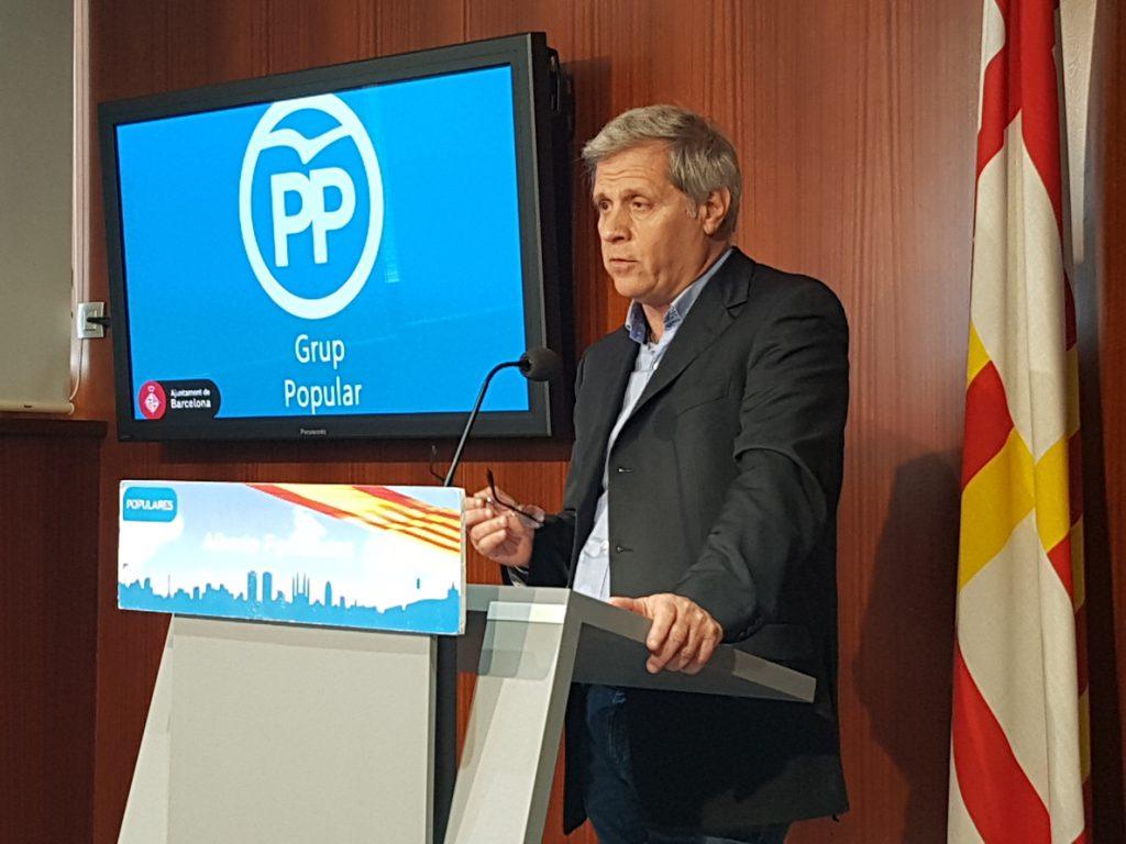 Alberto Fernández (PP) pide que el presunto agresor de Ciutadella no trabaje en centros cívicos