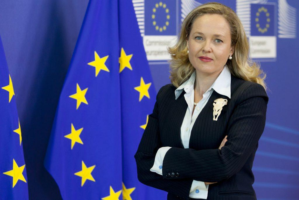 (Ampl.) Calviño y Le Maire defienden que el Ecofin adopte este año la propuesta de impuesto digital de la CE