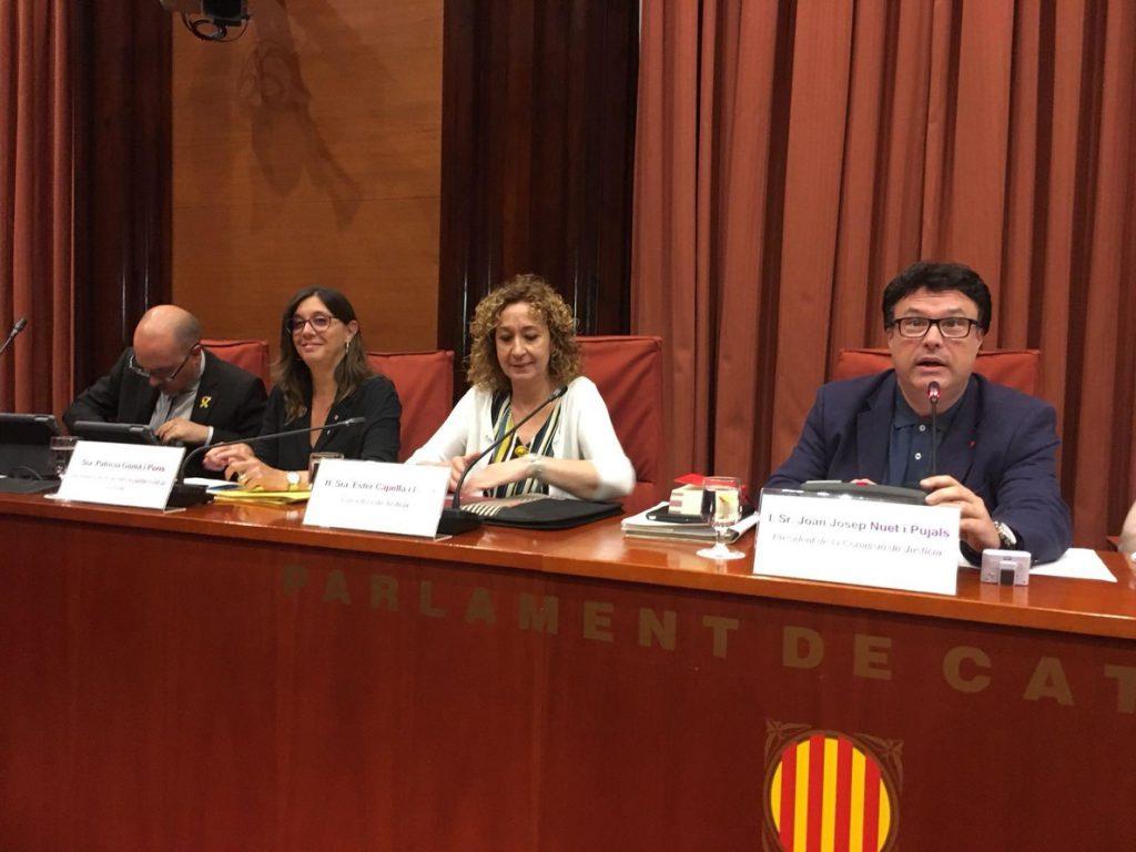 Delgado y Capella abordarán en su reunión de mañana la posible reforma para anular sentencias franquistas