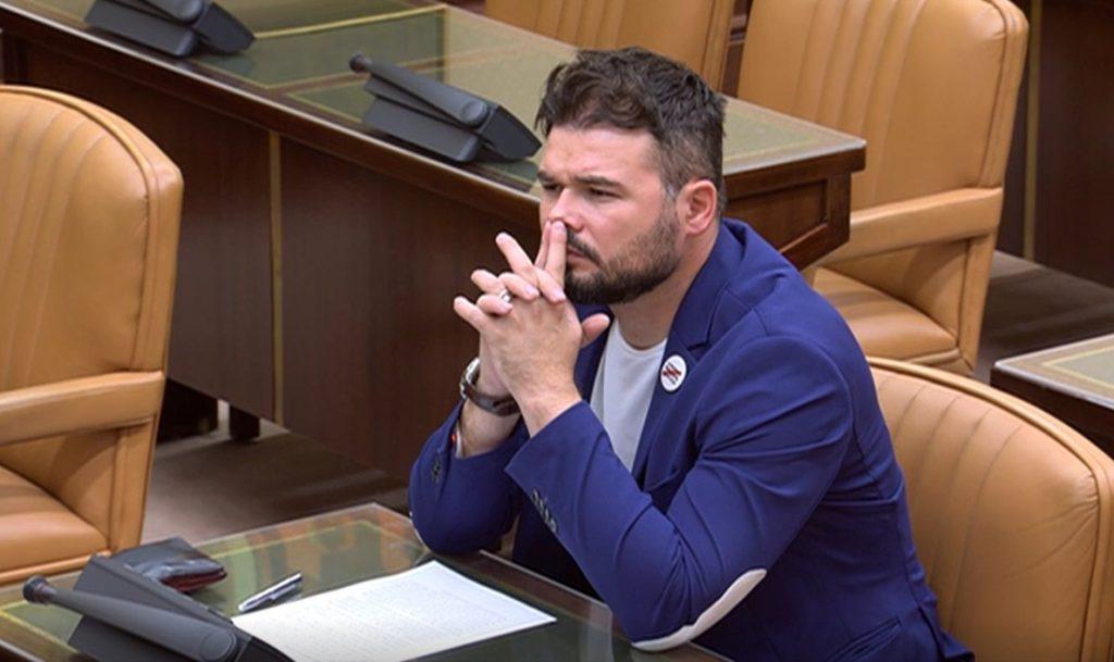 ERC anuncia que sus parlamentarios no irán a los Plenos del Congreso y del Senado del martes por coincidir con la Diada