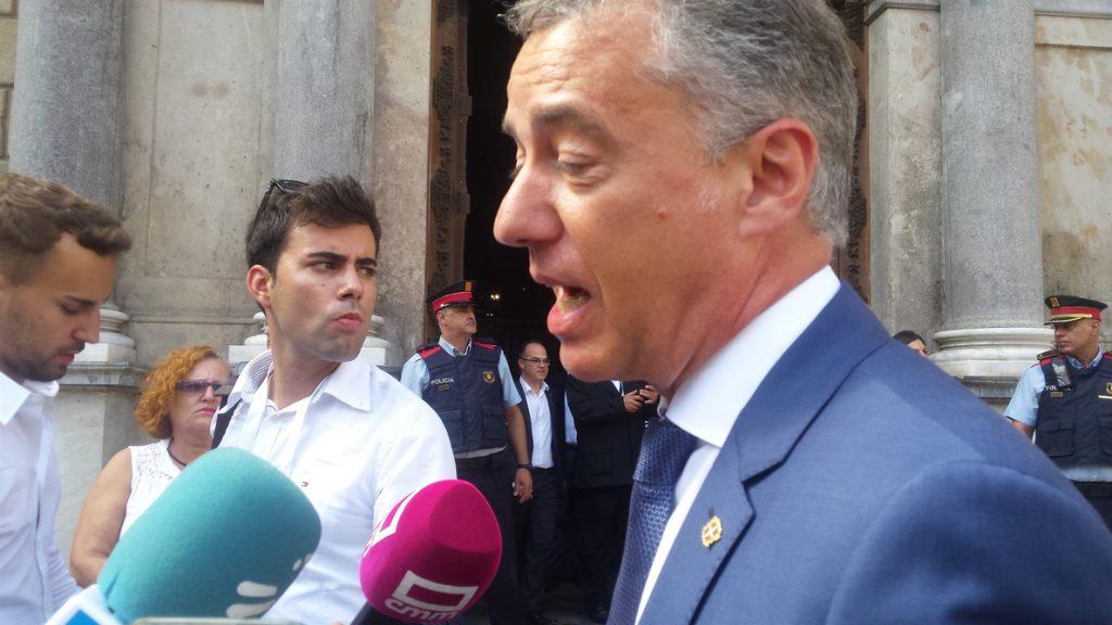 La Generalitat ve fluida su relación con el Gobierno vasco y prevé una reunión Torra-Urkullu