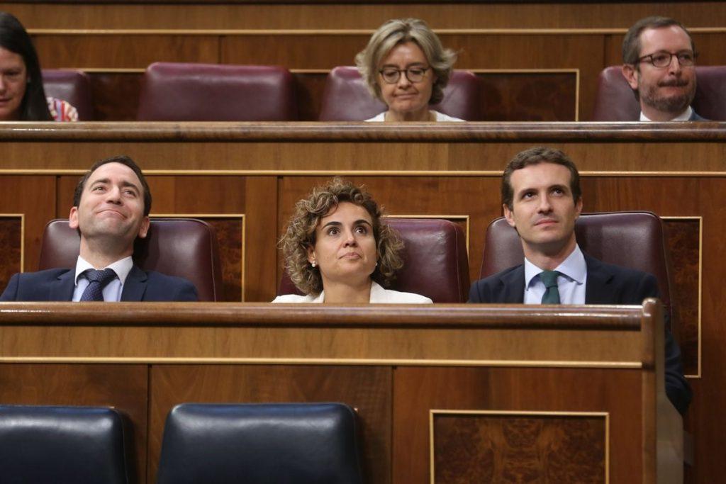 El PP cree que Torra no defenderá su proyecto en el Congreso para no escuchar el «no» de la mayoría