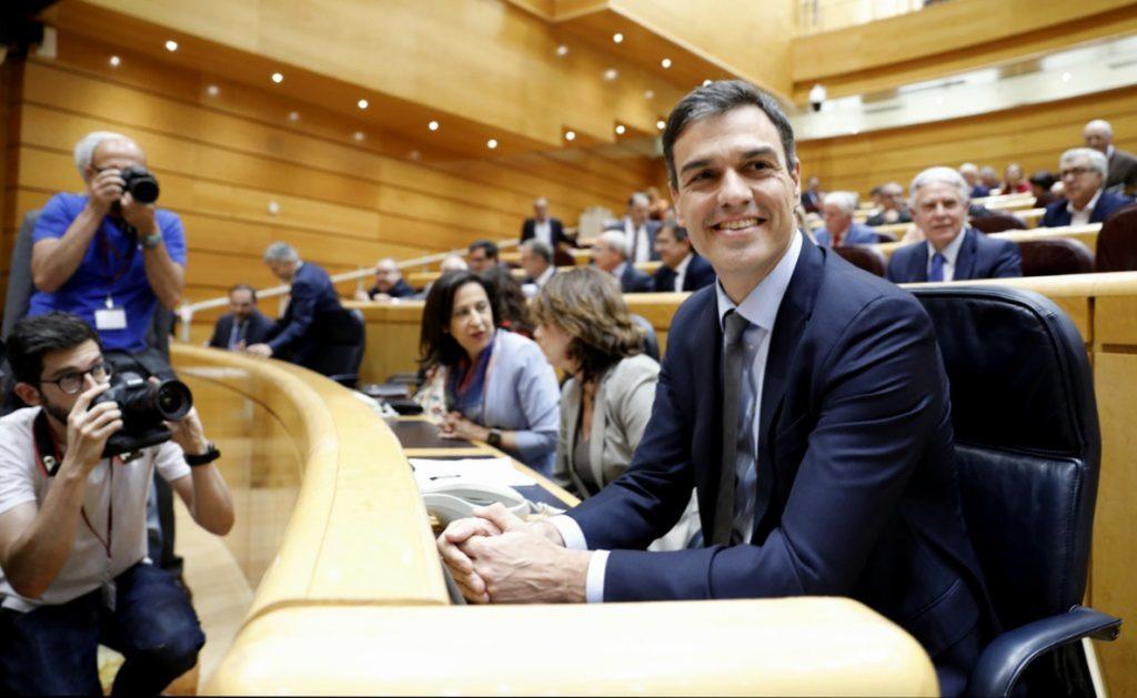 Pedro Sánchez comparecerá el próximo martes en el Senado, a la espera de que acepte el Pleno sobre inmigración del PP