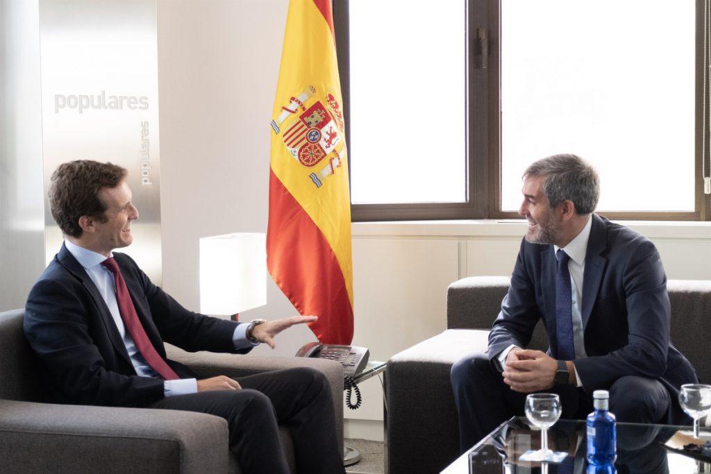 Coalición Canaria enmendará la modificación de la Ley de Estabilidad Presupuestaria si prospera para invertir superávit