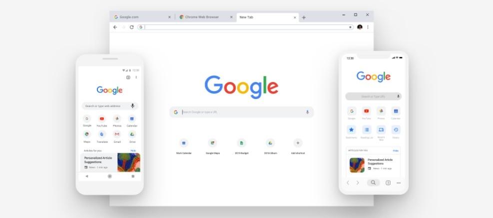 Google Chrome presenta novedades en su diseño y en las contraseñas