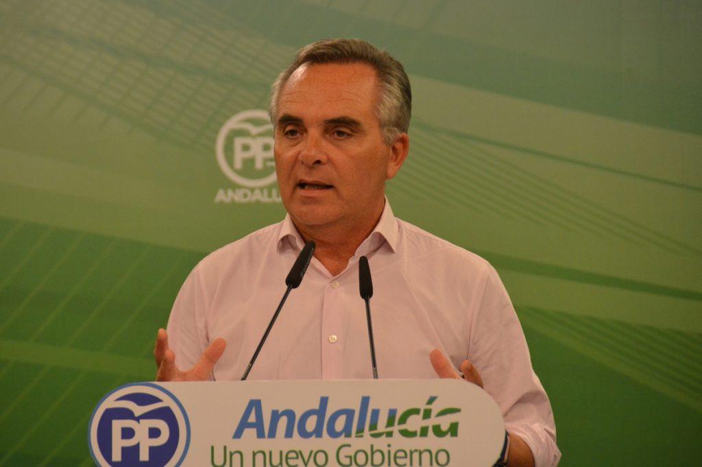 El PP-A reprocha a la Junta andaluza que tenga licitaciones «paralizadas» por valor de 731 millones de euros desde 2008