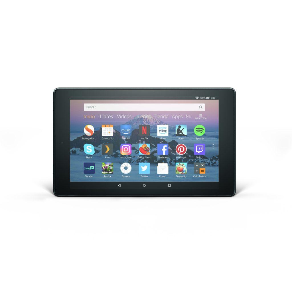 Amazon lanza la nueva tableta Fire HD 8 a partir de 99,99 euros