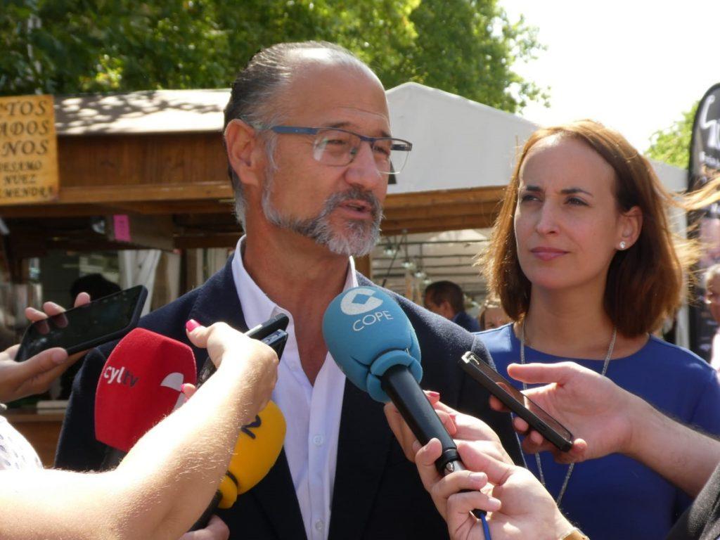 Ciuadanos no pedirá la dimisión del consejero de Fomento de CyL por 'Enredadera' pero le pide que reflexione