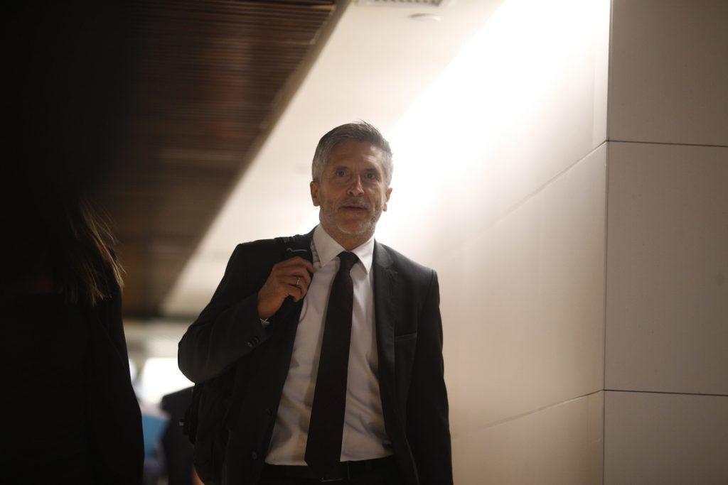 ERC y PNV preguntarán a Marlaska en el próximo Pleno del Congreso sobre el envío de 600 policías a Cataluña por el 1-O