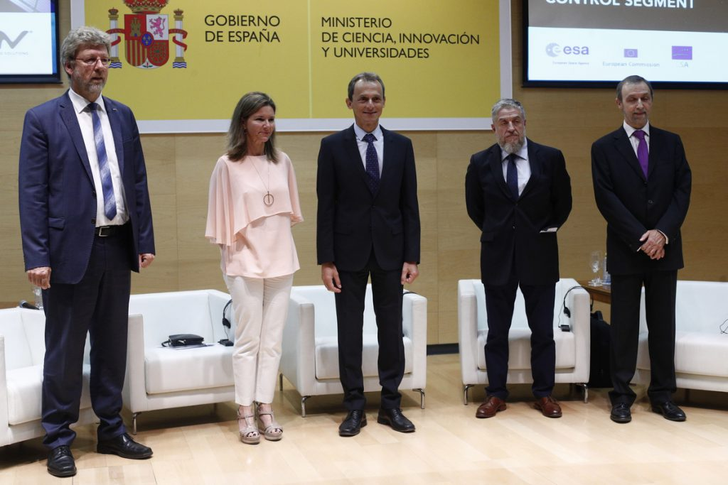 GMV logra el mayor contrato de la industria espacial española con la ESA para controlar los satélites Galileo
