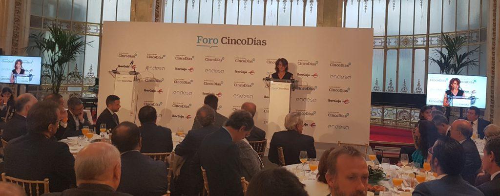 Ribera pide a las empresas implicarse en movilizar 100.000 millones contra el cambio climático hasta 2030