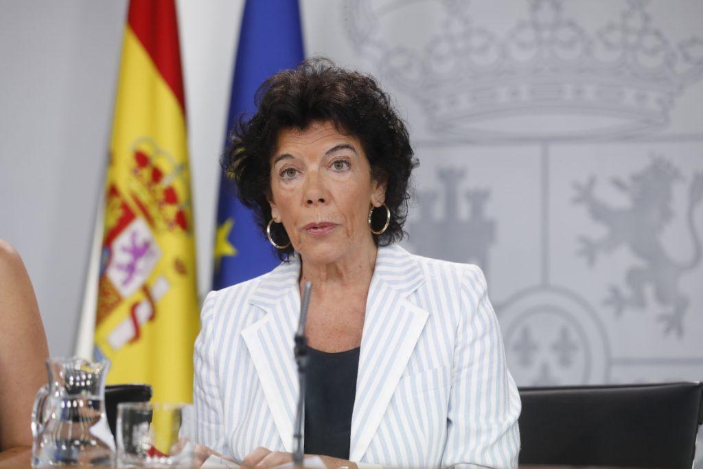 Celaá afirma que Ribera se ha reunido con Vestas para iniciar los trabajos que impidan el cierre en León