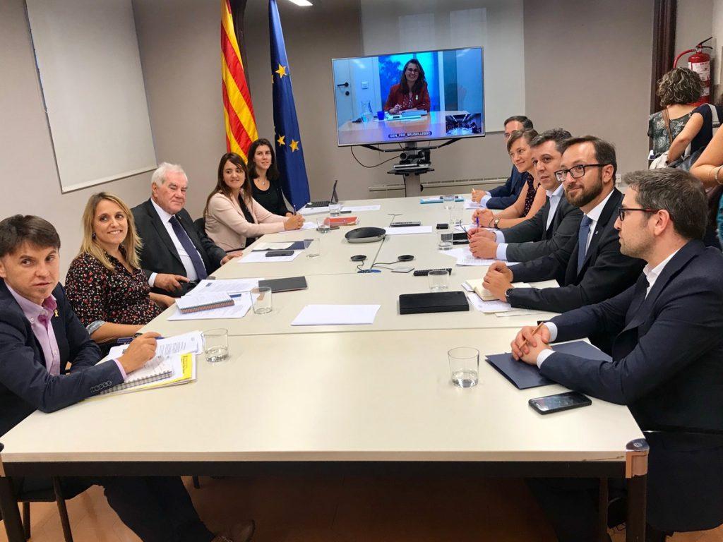 Maragall espera abordar con Borrell el recurso contra las delegaciones