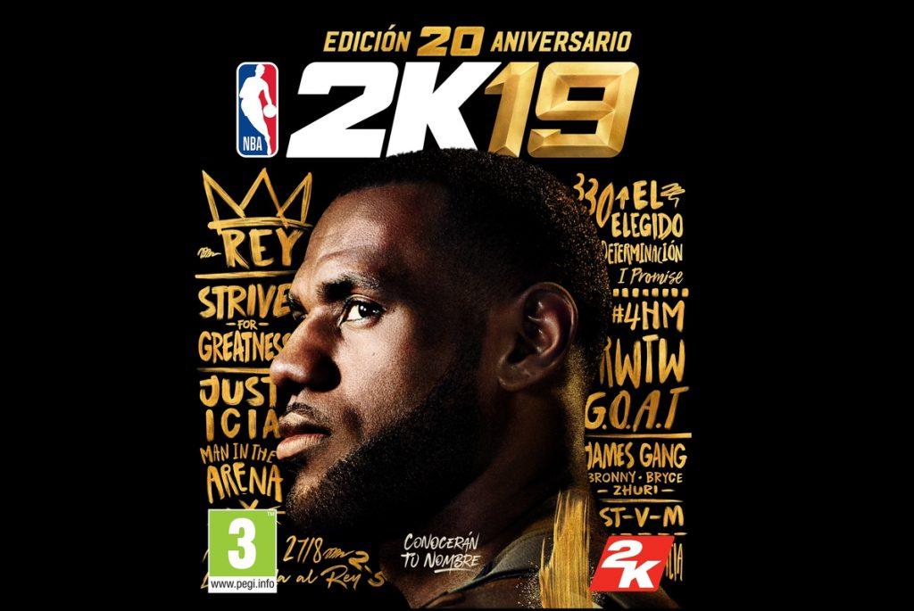 NBA 2K19, ya a la venta en su edición especial 20 Aniversario